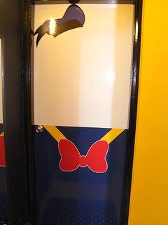 Donald Duck Bedroom Door entrance