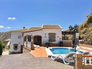 Casira, Vinuela (Axarquia/Malaga) Ruime makkelijk bereikbare villa