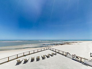 Awesome Ocean Views! Matanzas Inlet Townhome w/ Loft & Private Beach Access