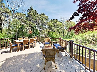 Walk to Red River Beach, Cycle to Cape Cod Rail Trail - 3BR on Half-Acre