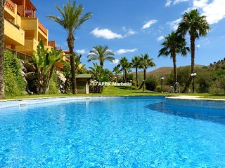 Wonderful garden apartment with swimming pools