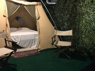 Central New York's Only Underground Campground