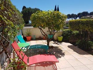 Beau T3 Vue mer avec terrasse et jardin