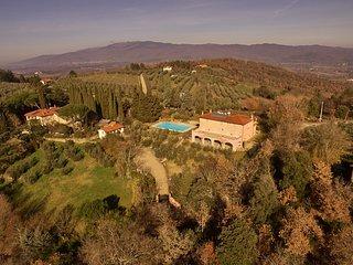 Villa nel Poggio, Arezzo Tuscany