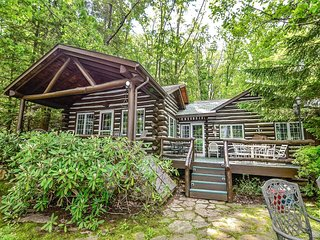 Life is good at Cochran's Cabin, a cozy lake home, where retro details and
