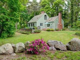 NEW LISTING! Tranquil home w/terrace & 2 kayaks-near Nauset Beach & downtown!