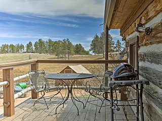 Watch sunsets from the private deck while dinner cooks on the gas grill.