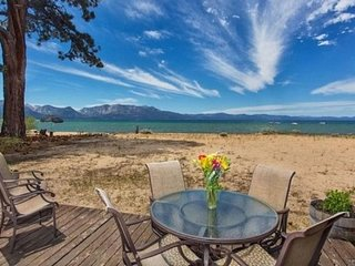 3999B- Tahoe Beach Front- Sandy Beach Front Home