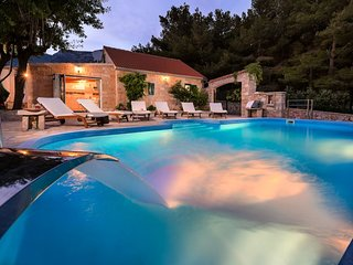 Luxury Villa Zlatni Rat with pool by the sea and beach Zlatni Rat in Bol -  Brac