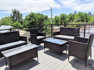 NEW BUILD in LOHI, rooftop deck skyline views 4 BA