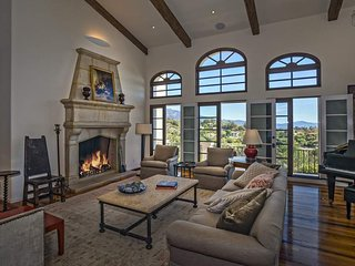 Gorgeous home in Montecito, ocean and mountain views - Eucalyptus Hill Escape