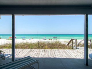 Beachfront, short drive to Rosemary Beach - SeaRenity at Inlet