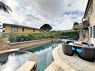 Luxurious 4BR All-suite Estate w/ Ocean Views, Private Heated Pool & Spa