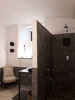 fantastic spacious shower ..