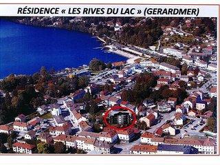 Gerardmer entre centre et lac, parking ferme, terrasse, WIFI