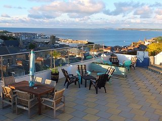 St Ives,Cornwall,self catering,hot tub,beaches,harbour,sea view