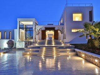 5 bedroom Villa in Es Cubells, Balearic Islands, Spain : ref 5047840