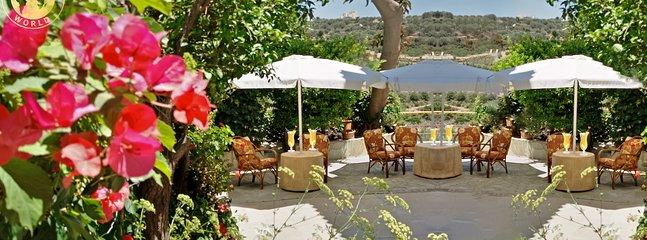 Evli's gardens with a beautiful views