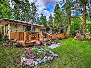 NEW! Flathead Lake Home w/ Private Beach & Dock!