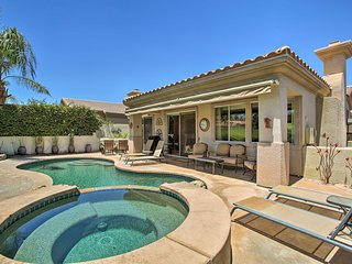 NEW! Palm Desert Home on Golf Course w/Pool & Spa!