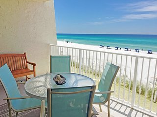 B201 - Beautiful 2BR/2BA Directly on the Beach!