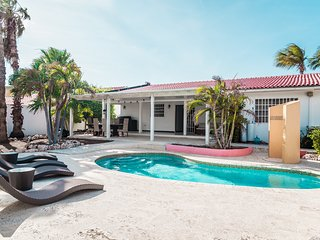 Welcome Aruba home villa privada 200 pies Palm Beach piscina privada!!!!