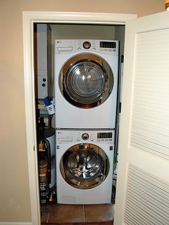 Jumbo washer and dryer both with steam cycle