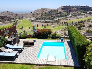 Villa with Pool in Salobre Golf Resort Golfers 2