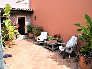 courtyard, perfect for a chilled glass of wine