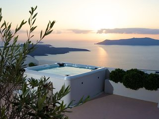 Sunset View Villa Santorini