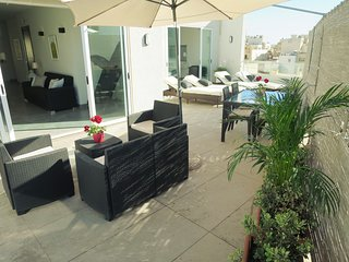 Central Spacious Luxury Penthouse Sun Roof Terrace & Garden Wifi