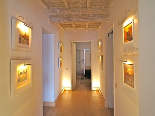 In Rome's Historic Center, Gracious Living with Historic Setting, Art and Modern