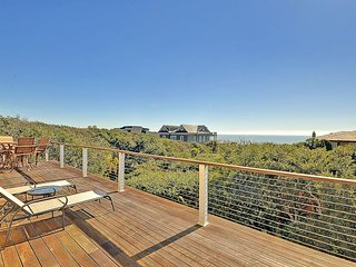 NEW LISTING! Spectacular oceanview home w/ pool, hot tub and private boardwalk