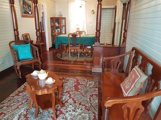 See Belize Colonial Style 2-BR Downtown Belize City Home