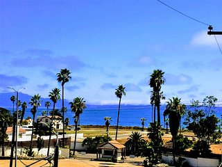 Rooftop ocean views with 4+1 BR and 4 BA with A/C &Heat and many amenities