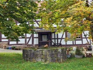 Historisches unter denkmalschutz stehendes stilvolles Fachwerkhaus