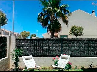 Casa con Patio junto a la playa