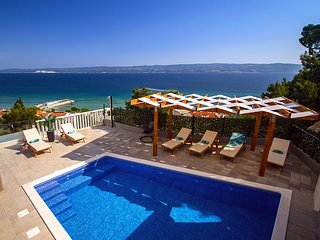 Villa Bakota - Private 28m2 pool, 4 bedrooms, panoramic sea view