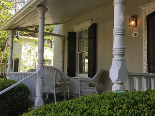 Relaxing summer evenings on the veranda