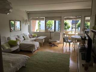 Child friendly Copenhagen apartment near Faelled Park
