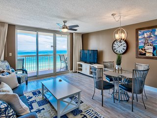11th floor Pelican Beach 1 bedroom with Unbelievable ocean views -on the beach -