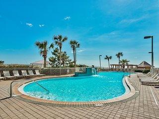 11th floor Pelican Beach 1 bedroom with Unbelievable ocean views -on the beach -
