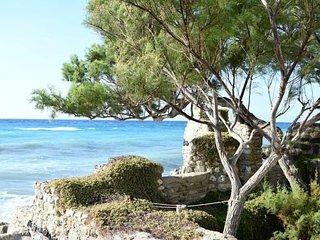 Villa con ampio giardino a 20 mt dal mare.