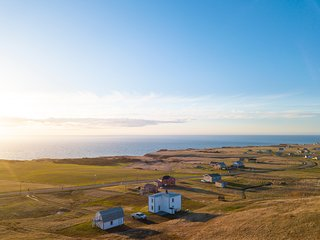 360° vistas of the archipelago from the hill on our property