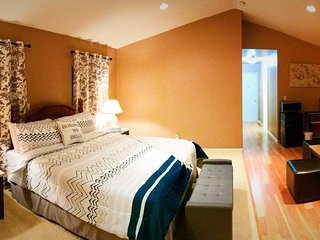 SPACIOUS MASTER SUITE; PRIVATE ENTRANCE
