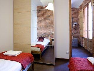 Apartamento de 2 habitaciones para familias