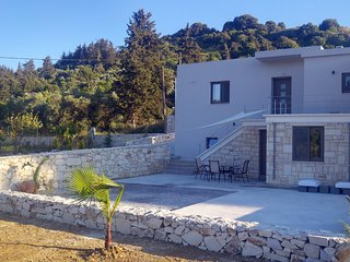 New - Renaissance - Modern Stone House at Vryses - First entry