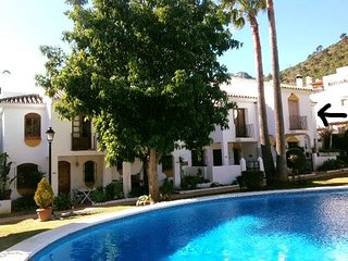 Charming two bedroom house with shared pool in picturesque Benahavis village.