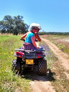 Explore the landscape on a quad