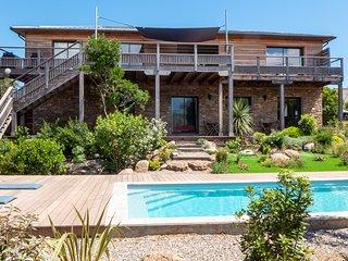 Location maison Sud-Corse a Pinarello Villa Casasou complete, piscine chauffee